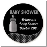 Baby Bling - Round Personalized Sticker Labels