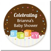 Baby Blocks - Personalized Baby Shower Table Confetti