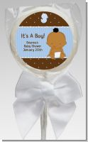 Baby Boy African American - Personalized Baby Shower Lollipop Favors