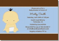 Baby Boy Asian - Baby Shower Invitations