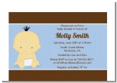 Baby Boy Asian - Baby Shower Petite Invitations