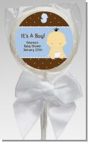 Baby Boy Asian - Personalized Baby Shower Lollipop Favors