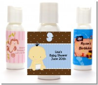 Baby Boy Asian - Personalized Baby Shower Lotion Favors