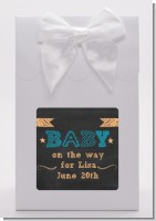 Baby Boy Chalk Inspired - Baby Shower Goodie Bags