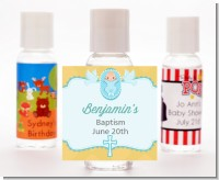 Baby Boy - Personalized Baptism / Christening Hand Sanitizers Favors