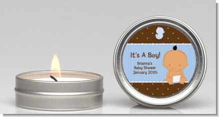 Baby Boy Hispanic - Baby Shower Candle Favors