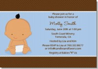 Baby Boy Hispanic - Baby Shower Invitations