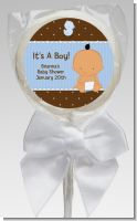 Baby Boy Hispanic - Personalized Baby Shower Lollipop Favors