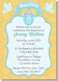 Baby Boy - Baptism / Christening Invitations