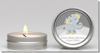 Baby Elephant - Baby Shower Candle Favors