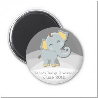 Baby Elephant - Personalized Baby Shower Magnet Favors