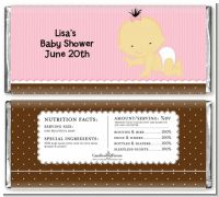 Baby Girl Asian - Personalized Baby Shower Candy Bar Wrappers