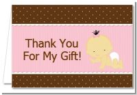 Baby Girl Asian - Baby Shower Thank You Cards
