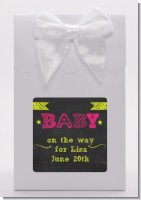 Baby Girl Chalk Inspired - Baby Shower Goodie Bags