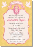 Baby Girl - Baptism / Christening Invitations