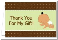 Baby Neutral Hispanic - Baby Shower Thank You Cards