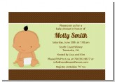 Baby Neutral Hispanic - Baby Shower Petite Invitations