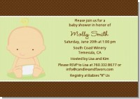 Baby Neutral Caucasian - Baby Shower Invitations