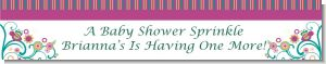 Baby Sprinkle - Personalized Baby Shower Banners