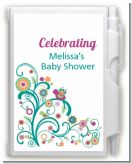 Baby Sprinkle - Baby Shower Personalized Notebook Favor
