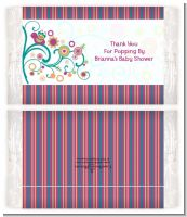 Baby Sprinkle - Personalized Popcorn Wrapper Baby Shower Favors
