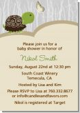 Baby Turtle Neutral - Baby Shower Invitations