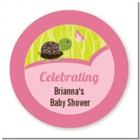 Baby Turtle Pink - Personalized Baby Shower Table Confetti