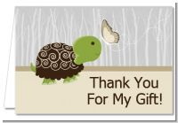 Baby Turtle Neutral - Baby Shower Thank You Cards