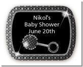Baby Bling - Personalized Baby Shower Rounded Corner Stickers