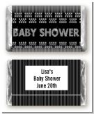 Baby Bling - Personalized Baby Shower Mini Candy Bar Wrappers