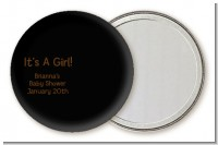 Baby Girl African American - Personalized Baby Shower Pocket Mirror Favors