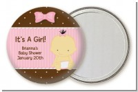 Baby Girl Asian - Personalized Baby Shower Pocket Mirror Favors