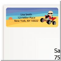 Baby On A Quad - Baby Shower Return Address Labels