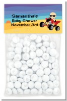 Baby On A Quad - Custom Baby Shower Treat Bag Topper