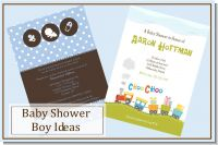 Baby Shower Invites for Boys