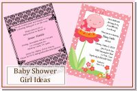 Baby Shower Invites for Girls