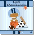 Sports Baby African American Baby Shower Theme thumbnail