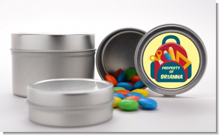 Backpack - Custom School Favor Tins