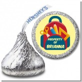Backpack - Hershey Kiss School Sticker Labels