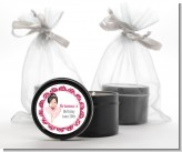 Ballerina - Birthday Party Black Candle Tin Favors
