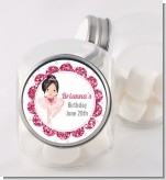 Ballerina - Personalized Birthday Party Candy Jar