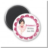 Ballerina - Personalized Birthday Party Magnet Favors