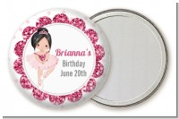 Ballerina - Personalized Birthday Party Pocket Mirror Favors