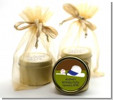 Baseball - Birthday Party Gold Tin Candle Favors