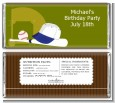 Baseball - Personalized Birthday Party Candy Bar Wrappers thumbnail