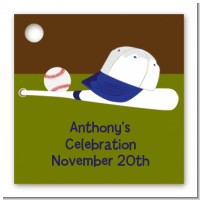 Baseball - Personalized Birthday Party Card Stock Favor Tags