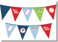 Future Baseball Player - Baby Shower Themed Pennant Set thumbnail