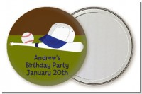 Baseball - Personalized Birthday Party Pocket Mirror Favors