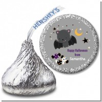Bat - Hershey Kiss Halloween Sticker Labels