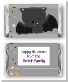 Bat - Personalized Halloween Mini Candy Bar Wrappers